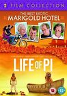 The Best Exotic Marigold Hotel & Life of Pi DVD 2 Film Collection