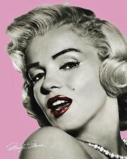 Marilyn Monroe : Pink Lips - Mini Poster 40cm x 50cm (new & sealed)