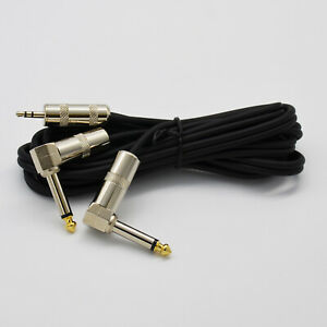 """Stereo Male to 1//4/"""" 6.3mm Mono TS Male Cable 1//8/"""" Premium 3.5mm"""
