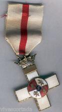 Spagna Medaglia Decorazione Merito Militare distintivo bianco 1ª Modello 1938