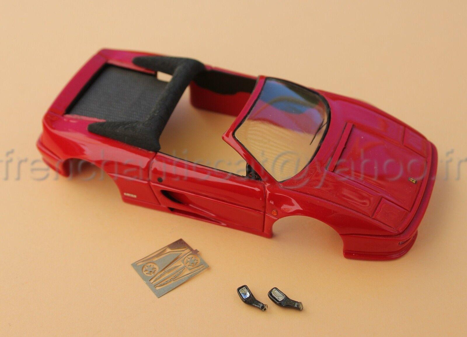 Me voiture ferrari f355  355 spider collector rouge 1 43 heco models miniature  peu coûteux