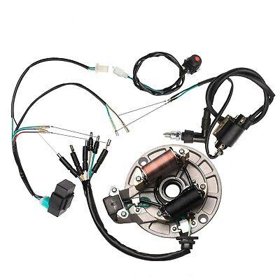 50-125cc Kick Start Dirt Pit Bike Wire Harness Wiring Loom ...