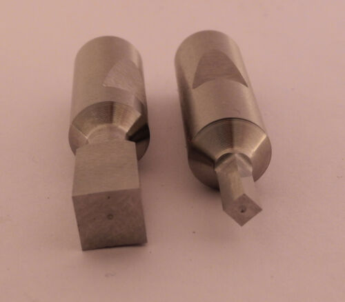 INTERNAL ROTARY SQUARE BROACH 8mm Dia X 1-1//4 Lng Sizes; 1//16 to 7//32 1.5 to 5mm