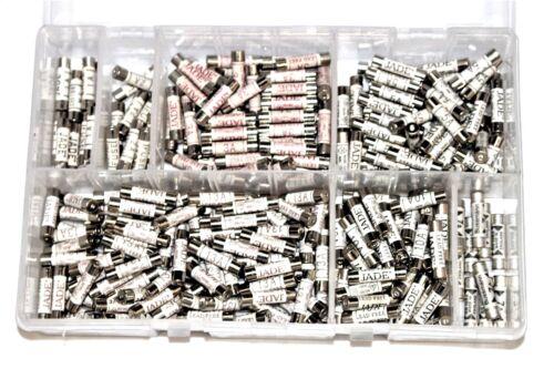 Surtido Caja de 280 fusibles Nacional 1A 2A 3A 5A 7A 10A 13A fusible de enchufe de casa AT128