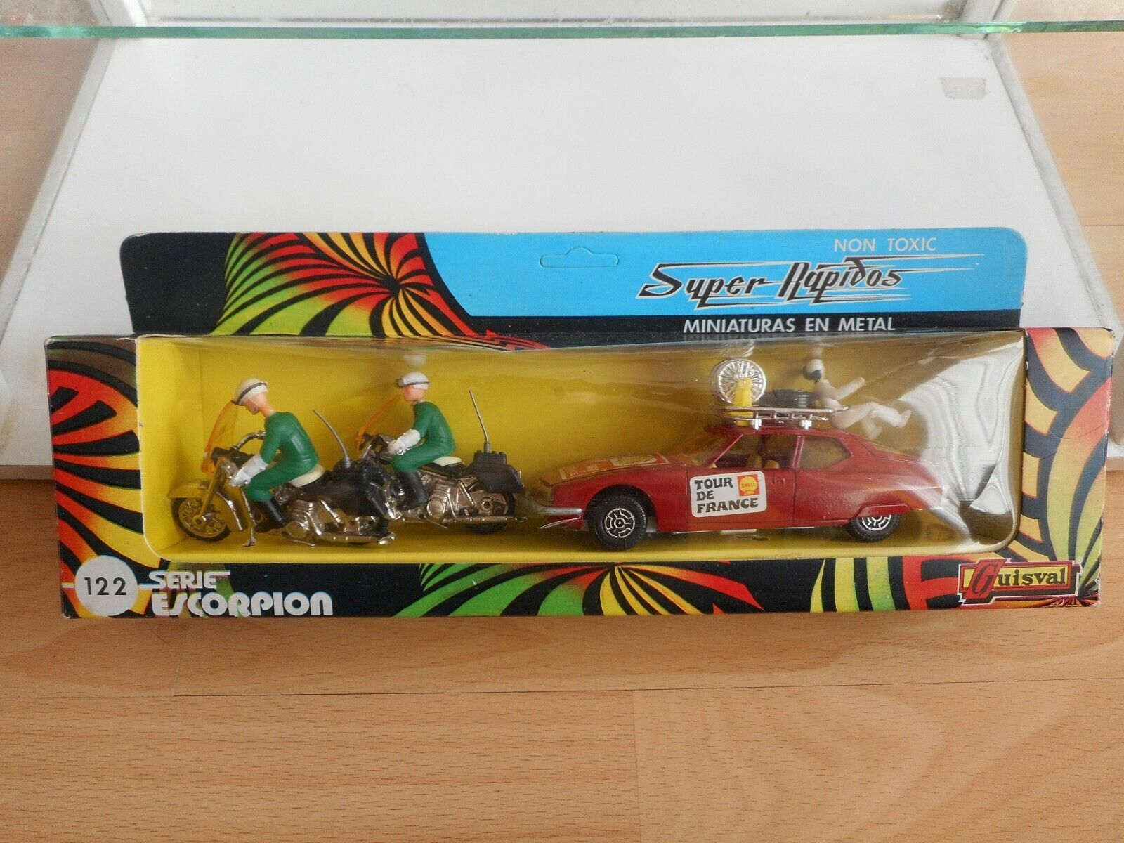 Guisval Serie Escorpion Control Official Tour de France set on 1 37 in Box
