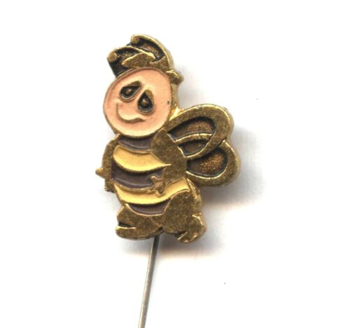 bee old Polish pin Drone anime TV series Maya the Honey Bee BEEKEEPING badge