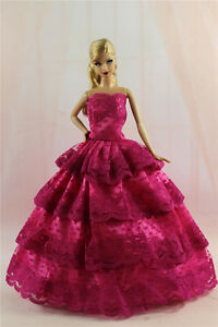 Fashion-Princess-Party-Dress-Evening-Clothes-Gown-For-11-5in-Doll-S329U
