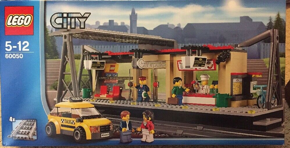 LEGO City Train Station 60050 Trains NEW Free Shipping