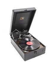 Vintage Portable HMV Gramophone Mod 102 Black