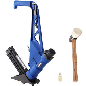 Campbell hausfeld hardwood flooring nailer and stapler ebay for Hardwood floors nail gun