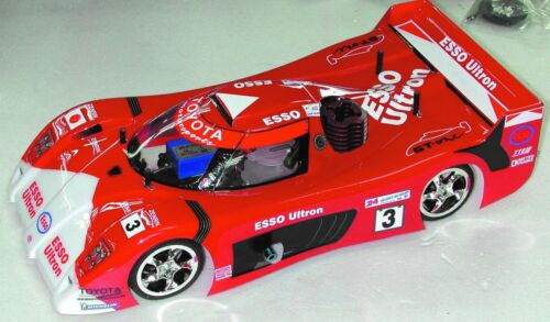 1:10 RC Clear Lexan Body Toyota GT1 190mm for Electric Cars suit Tamiya