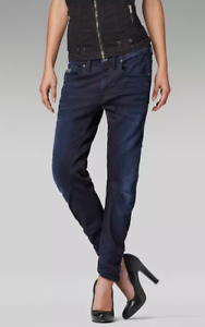 G-Star-Arc-3d-Kate-Tapered-Jeans-dark-aged-Damen-Groesse-UK-w30-l32-ref01-08