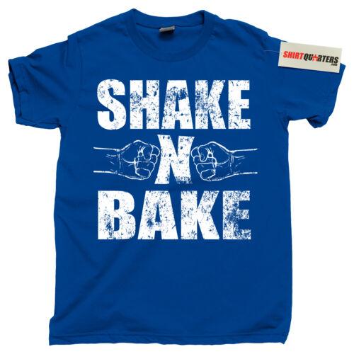 Shake /& N Bake Will Ferrell NASCAR Dale Earnhardt Jr Ricky Bobby movie T Shirt