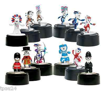 Corgi London 2012 Mascot Figurines COMPLETE SET OF 12 ***SPECIAL OFFER***