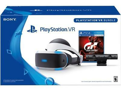 'PlayStation VR GranTurismo Sport Bundle' from the web at 'https://i.ebayimg.com/images/g/bgoAAOSw0A9aJqhy/s-l400.jpg'