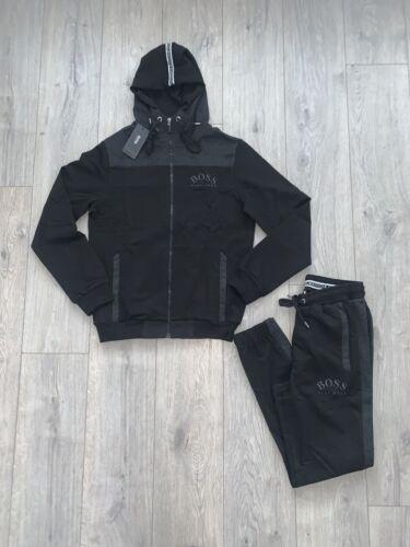 Hugo Boss BOSS New BNWT Tracksuit Zipped Hoodie /& Pant Black Size XL