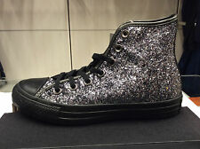 SCARPA DONNA CONVERSE art. 555114C mod. ALL STAR HI colore NERO GLITTERATO