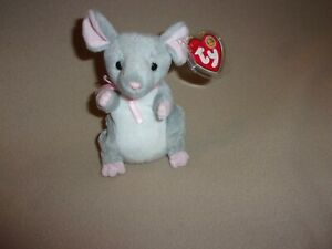 TY MWMT BREADCRUMBS THE MOUSE BEANIE BABY- MAY 2005 BEANIE BABY OF THE MONTH