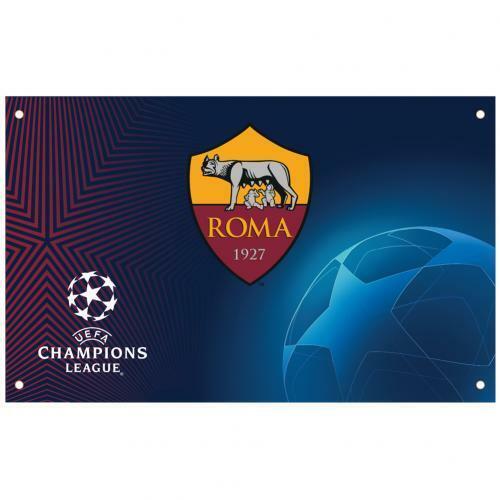 A. S. Roma Liga de Campeones Bandera Merchandising Oficial