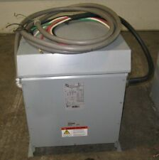 Transformer 480v To 240 3 Phase 45 Kva Hammond Power Solutions