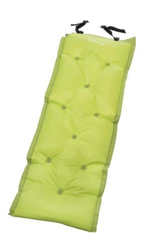 4Uniq selbstaufblasende Liegematte grün Camping Zelten Isomatte Campingmatte