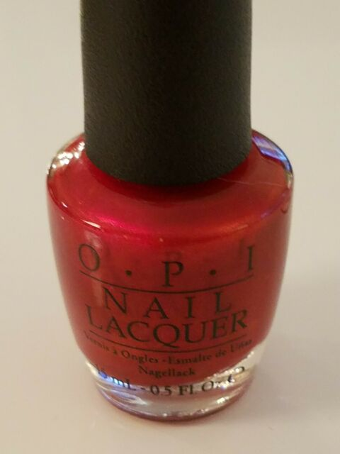 OPI Nail Lacquer (nail Polish) Danke-shiny Red NLG14 for sale online ...