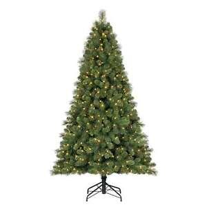 Home Heritage 9 Artificial Cascade Pine Christmas Tree