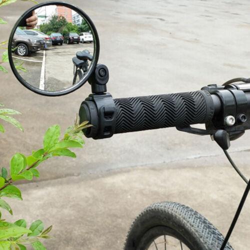1 PC Drehen Fahrrad Zurück Rückansicht Lenker Sicherheit Rückspiegel