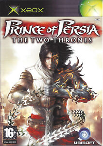 PRINCE-OF-PERSIA-THE-TWO-THRONES-for-Xbox-with-box-amp-manual-PAL