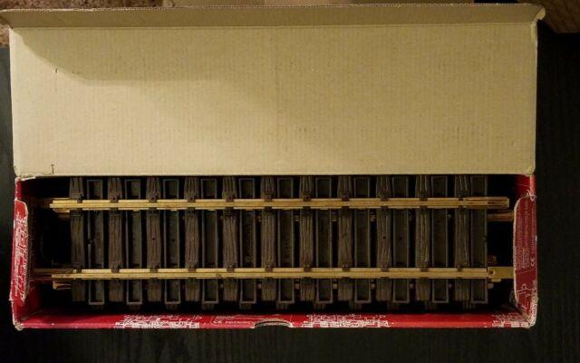 LGB 12 X 1000 G SCALE STRAIGHT BRASS TRACK 300mm