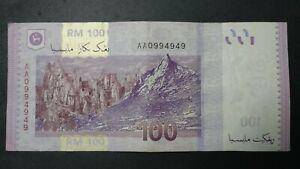 RM100-Zeti-First-Prefix-Nice-Number-AA0994949-AEF-No-Hole-No-Tear