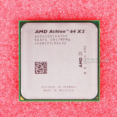 2.3 GHz Dual-Core CPU Processor ADO4400IAA5DU Socket AM2 AMD Athlon 64 X2 4400