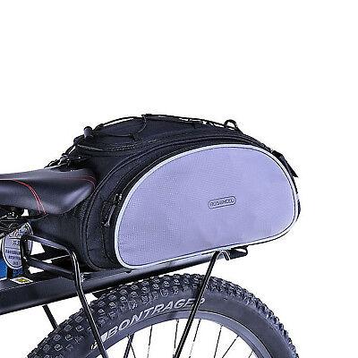 Große Kapazität Polyester Fahrrad vorne Korb wasserdichte Lenkertasche K