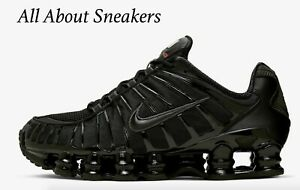 scarpe nike shox nere