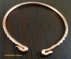 Image Is Loading Pure Copper Bracelet Arthritis Bio Pain Relief Bangle