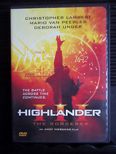 "Highlander 3: The Final Dimension (DVD, 2008, Canadian) ""RARE"" THE SORCERER"