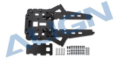 Align 690L (bigger battery version) Lower Carbon Plate Set M480036XXT