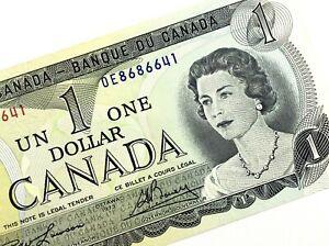 1973-Canada-1-Dollar-OE-Uncirculated-Canadian-Lawson-Bouey-Banknote-M837