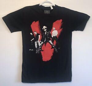 U2-Vertigo-2005-Concert-Tour-T-Shirt-Bono-Edge-Medium