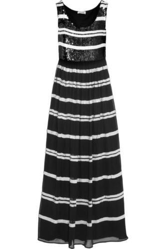 Alice by temperley Sequin Embellie Daphne Long Robe Longue Taille 6,8,10.. 3 #