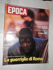 EPOCA Ovidio Lefebvre Cambogia Vietnam Chinatown Eredi Callas Violenza a Roma di