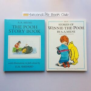 Details about THE POOH STORY BOOK & STORIES OF WINNIE THE POOH ~ A A   Milne  Hardcover