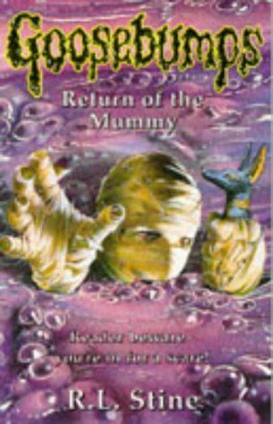 Stine, R. L., Return of the Mummy (Goosebumps), Like New, Paperback