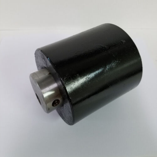 """Details about  /4/"""" x 4/"""" Steel Nose Roller with 2/"""" diameter Axle for Roll Off Containers"""