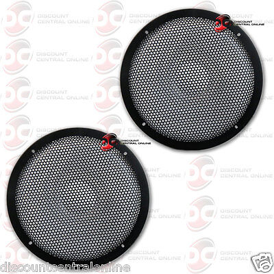 """2 12/"""" inch Sub Woofer Clipless Fine Mesh GRILL Speaker Protective Cover Scratch"""