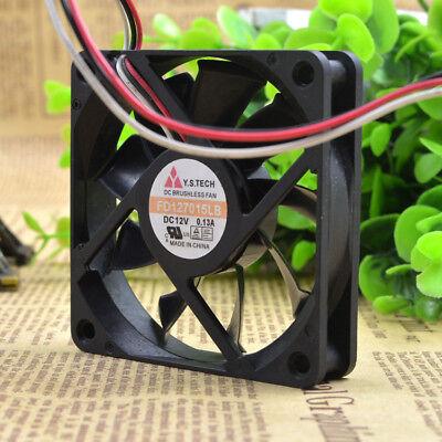 1pcs  Y.S.TECH 7015 FD127015LB 12V 0.13A 7cm 7CM cooling fan 3pin