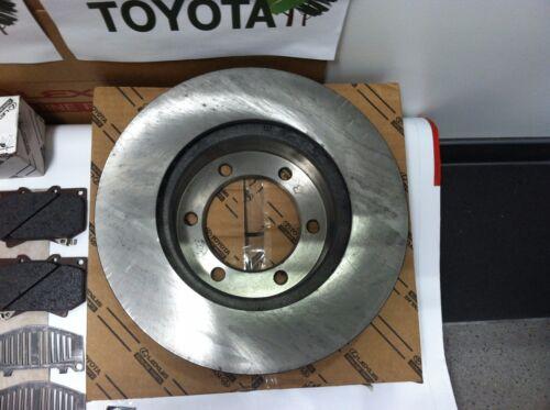 Toyota Tundra 2000-2003 Genuine OEM Front Brake Rotors Shims and Pins Pad Kit