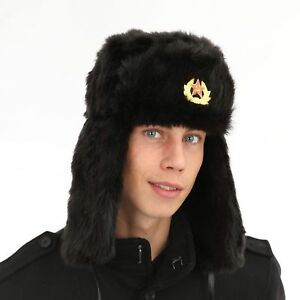 Men`s Women Ladies Unisex Warm Winter Russian Hat Army Soldier ... ce2728e1a26b
