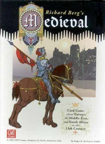 Richard Berg's Medieval Card Game Used by GMT Games English Edition