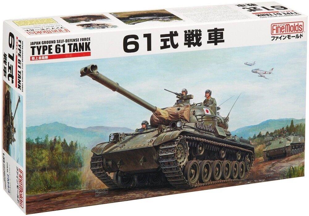 JGSDF TYPE 61 TANK - Fine Molds 1 35 Plastic Model Kit FM43 JAPAN F S J9281